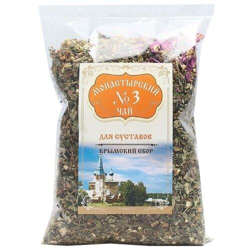 Фото - Чай травяной Крымский чай Монастырский № 3 Для суставов, 100 г чай травяной aroma монастырский 100 г
