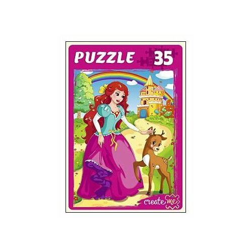 Фото - Пазл Рыжий кот Принцесса и замок (ПУ35-7270), 36 дет. пазл рыжий кот причал и цветные дома кб1000 6884 1000 дет