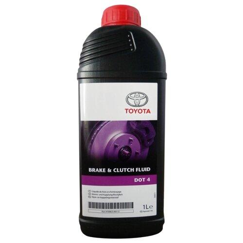 Тормозная жидкость TOYOTA DOT 4 1 л тормозная жидкость zalmer dot 4 0 91 л