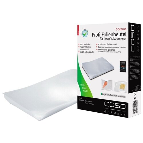 Caso Пакеты 30x40 для вакуумного упаковщика бесцветный 50 шт.