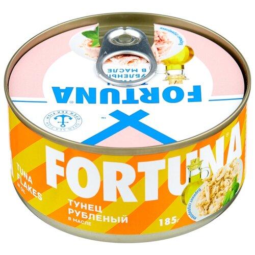 кий fortuna кий fortuna 09466 10 запилов 1рс рп Fortuna Тунец рубленый в масле, 185 г