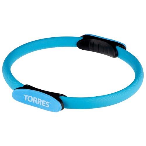 Кольцо для пилатеса TORRES YL5004 голубой/черный