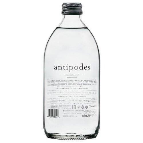 Вода минеральная Antipodes негазированная стекло, 0.5 л минеральная вода от изжоги при беременности