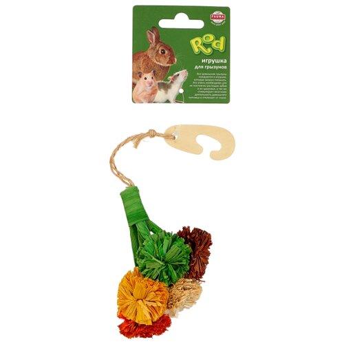 Игрушка для грызунов Fauna International Цветы 28х8см кукуруза