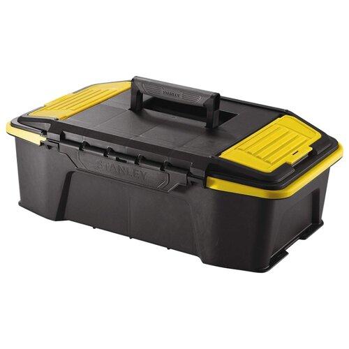 Ящик STANLEY STST1-71964 50.7x31x16.8 см черный ящик с органайзером stanley stst1 75518 essential toolbox metal latch 41x20x20 см 16 черный