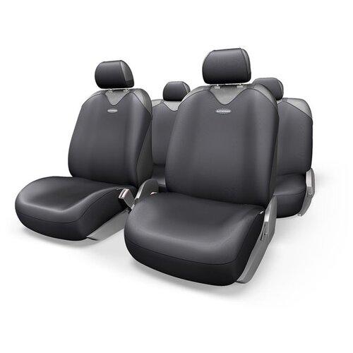 цена на Комплект чехлов AUTOPROFI R-902P черный
