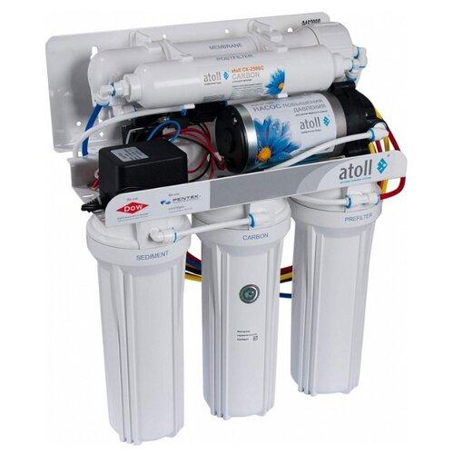 Фильтр под мойкой Atoll A-575Ep w/pump/A-575p STD с обратным осмосом фильтр под мойкой atoll a 450m std compact четырехступенчатый