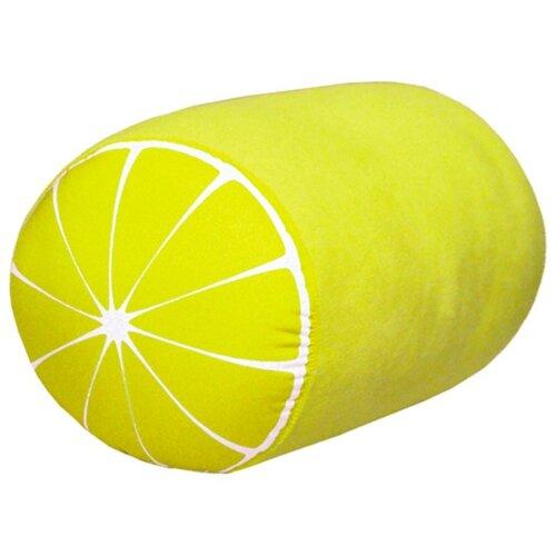 Антистрессовая подушка-валик Штучки, к которым тянутся ручки Фрукты, лимон