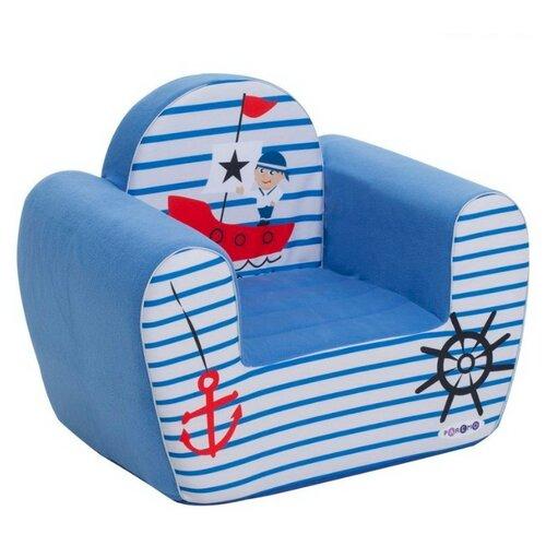 Фото - Кресло PAREMO детское PCR317 размер: 54х38 см, обивка: ткань, цвет: Экшен Мореплаватель мягкие кресла paremo игровое кресло серии экшен мореплаватель