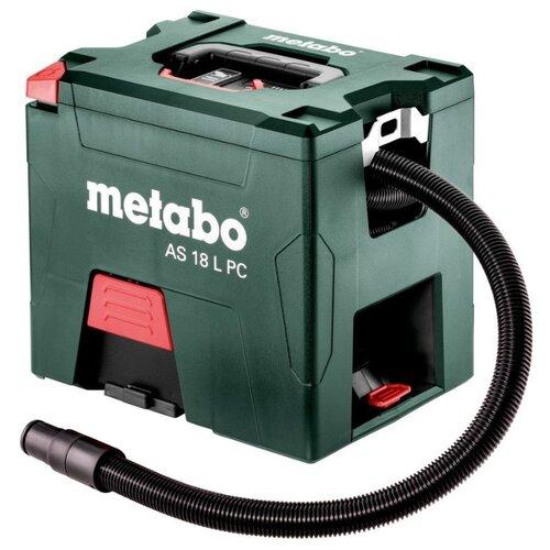 Профессиональный пылесос Metabo AS 18 L PC (602021000) зеленый1