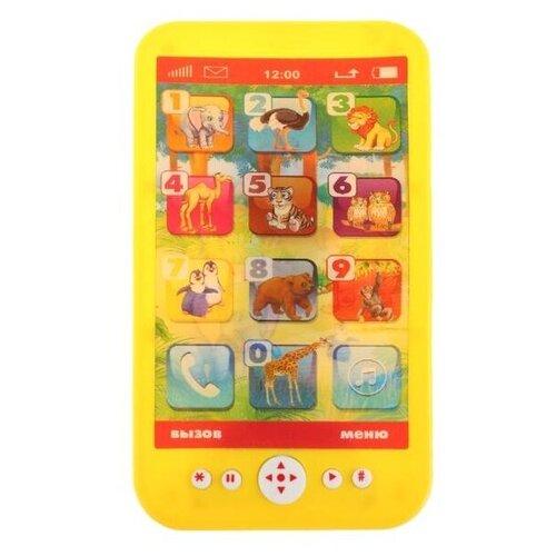 Развивающая игрушка Умка Музыкальный телефон Маршак (B1507473-R4), желтый