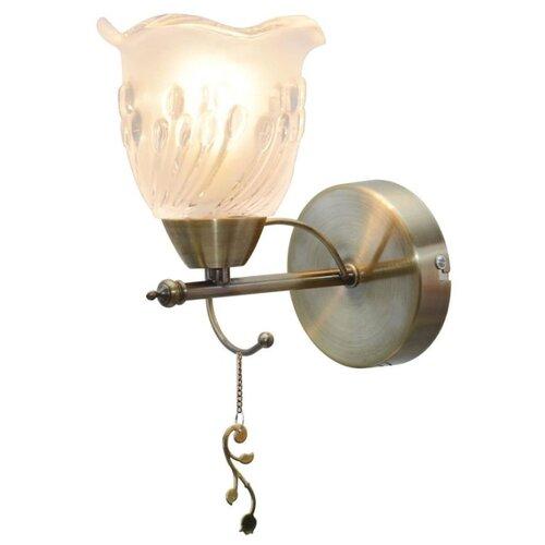Настенный светильник Toplight Delia TL1195B-01AB, 40 Вт светильник подвесной toplight ida tl1172h 01ab