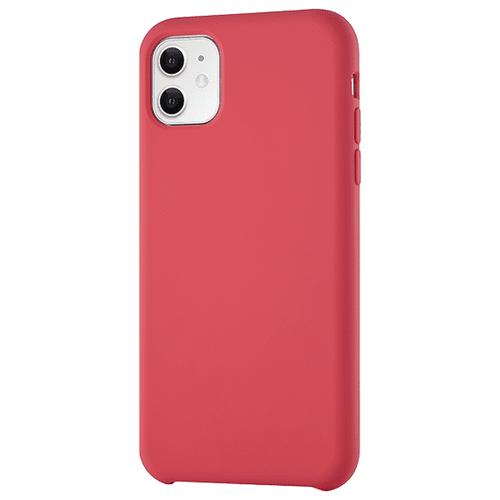 Чехол-накладка uBear Touch Case для Apple iPhone 11 красный чехол накладка ubear touch case для apple iphone 7 iphone 8 cream