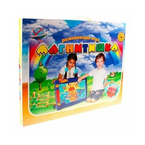 Купить Доска для рисования детская Эра Магнитишка Тип 9 (С-272) синий, Доски и мольберты
