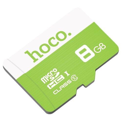 Карта памяти Hoco Micro SDHC 8GB зеленый