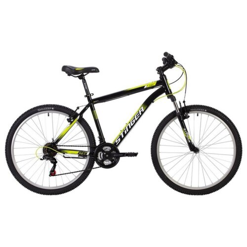 цена на Горный (MTB) велосипед Stinger Caiman 26 (2020) черный 18 (требует финальной сборки)