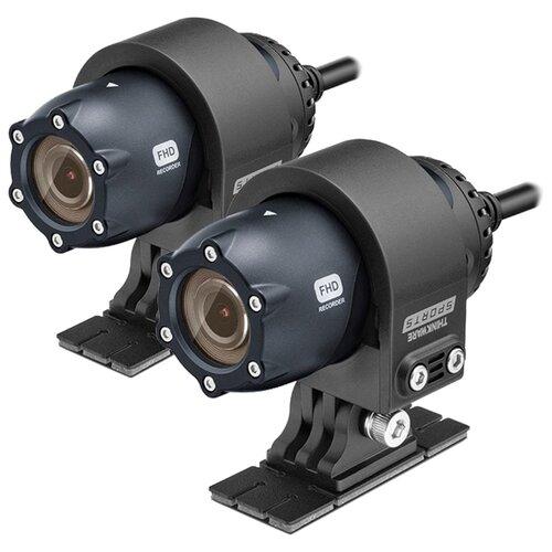 Купить Видеорегистратор Thinkware Sports M1, 2 камеры, GPS черный