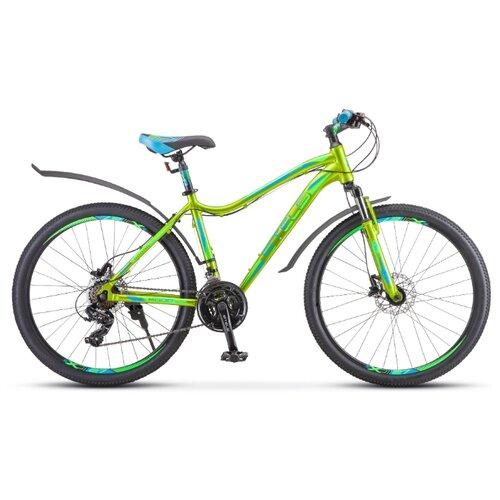 цена на Горный (MTB) велосипед STELS Miss 6000 D 26 V010 (2020) желтый/зеленый 15 (требует финальной сборки)