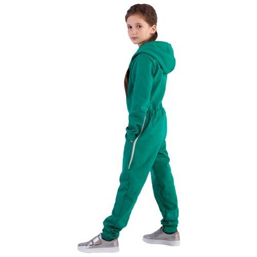 Купить Комбинезон Bambinizon ТКМП-ИЗ размер 122-128, зеленый, Термобелье
