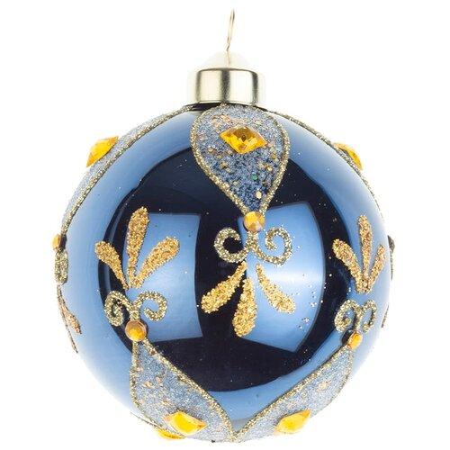 Набор шаров KARLSBACH 08894, темно-синий/золотой