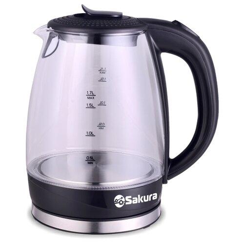 Чайник Sakura SA-2717, черный чайник sakura sa 2343r