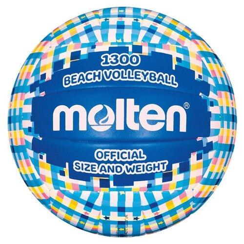 Волейбольный мяч Molten V5B1300 синий/голубой
