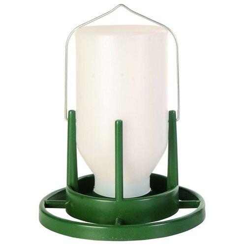 Кормушка TRIXIE 5452 для птиц уличная 1 л бело-зеленый