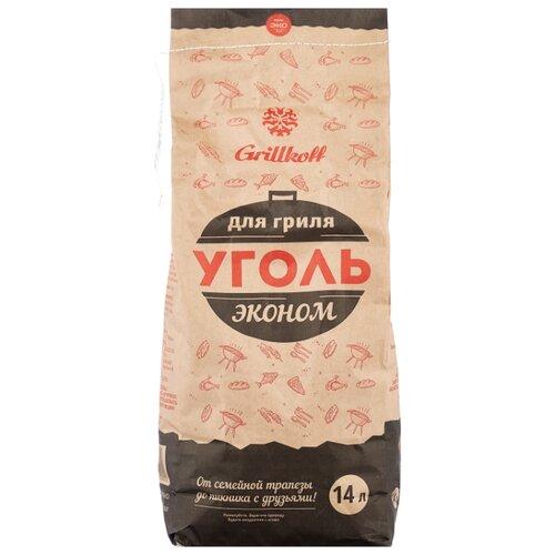 Grillkoff Уголь древесный для гриля «Эконом», 14 л