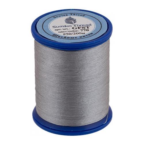 Sumiko Thread Швейная нить (GFST), 770 серый 200 м