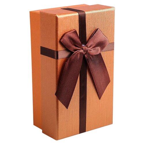 Коробка подарочная Yiwu Zhousima Crafts 2489470 - 2489473 15 х 5.5 х 9 см оранжевый