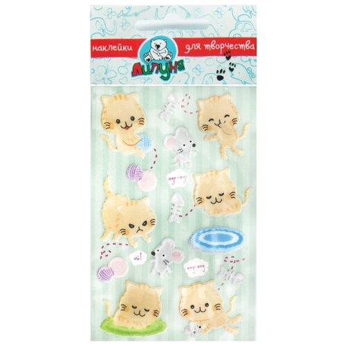 Липуня Набор наклеек Воздушные кошки (CPS002)