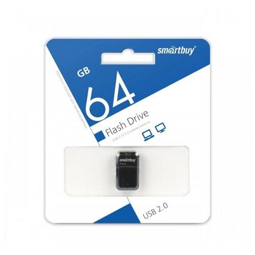 Фото - Флешка SmartBuy Art 64GB черный 1 шт. флешка promega jet high speed 64gb белый 1 шт