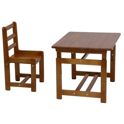 Комплект Фея стол + стул Растем