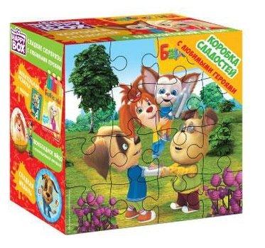 Подарочный набор Happy Box Коробка сладостей Барбоскины 263 г