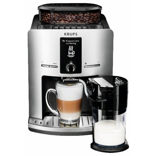 Кофемашина Krups EA829E Latt' Express серебристый кофемашина krups ea894t10 серебристый