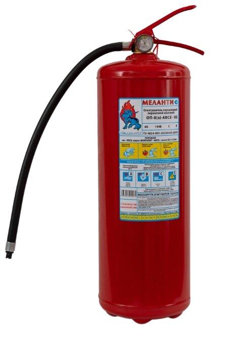 порошковый огнетушитель Меланти ОП-8