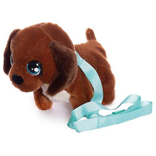 Купить Мягкая игрушка Club Petz Mini Walkiez Щенок Chocolab, Роботы и трансформеры