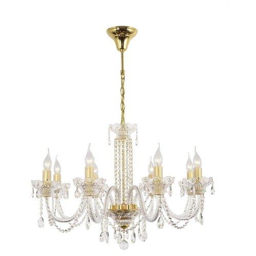 подвесная люстра arti lampadari sofia e 1 1 6 600 g Люстра Arti Lampadari Sofia E 1.1.8.600 G, E14, 320 Вт