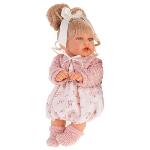 Кукла Antonio Juan Лухан в светло-розовом, 27 см, 1231P кукла абрил в розовом antonio juan кукла абрил в розовом