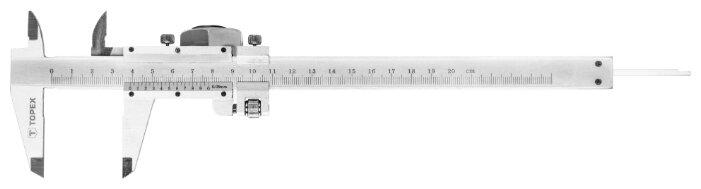 Нониусный штангенциркуль TOPEX 31C616 200 мм, 0.05 мм