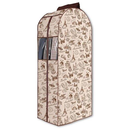 Valiant Кофр подвесной для одежды Travelling TRC108 коричневый/бежевый