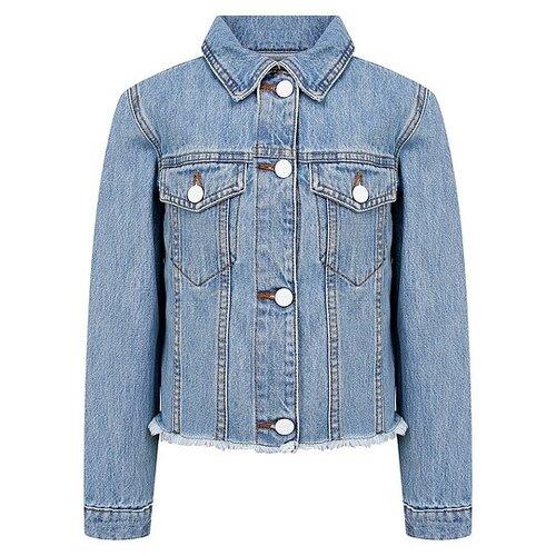 Купить Куртка Pinko 024566 размер 164, голубой, Куртки и пуховики
