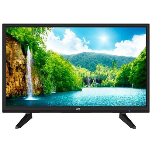 Фото - Телевизор Leff 24H110T 23.6 (2019) черный телевизор leff 55u610s 55 2020 на платформе яндекса черный