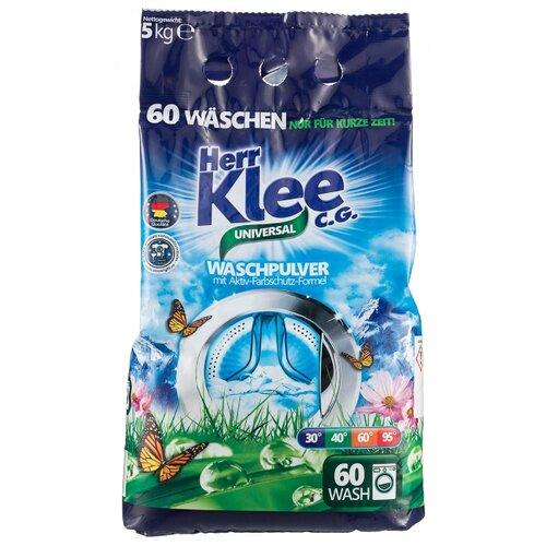 Стиральный порошок Herr Klee Universal универсальный пластиковый пакет 5 кг