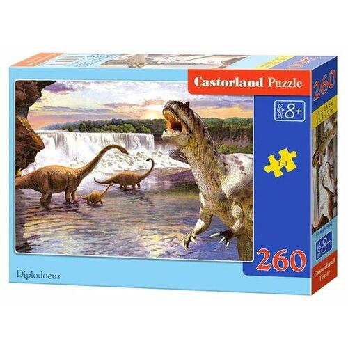Купить Пазл Castorland Diplodocus (B-26999), 260 дет., Пазлы