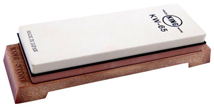 Камень точильный водный King, #800/#4000, 185*63*25мм, комбинированный KDKW-065P
