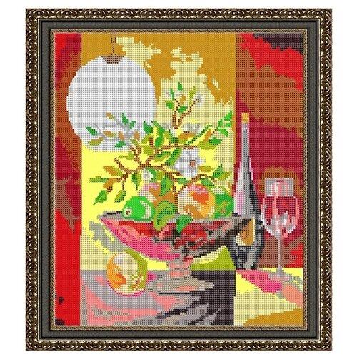 Светлица Набор для вышивания бисером Натюрморт 26,8 x 29,8 см (075)