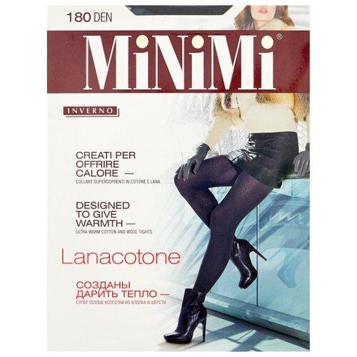 Колготки MiNiMi Lanacotone 180 den, размер 4-L, nero (черный) колготки minimi lanacotone 180 den размер 4 l nero черный