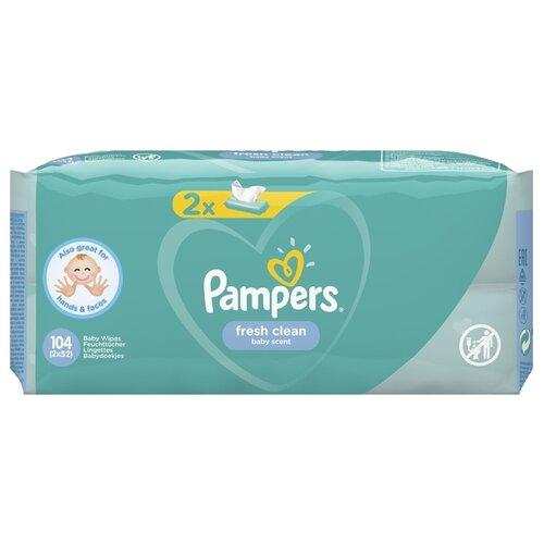 Купить Влажные салфетки Pampers Fresh Clean 104 шт.