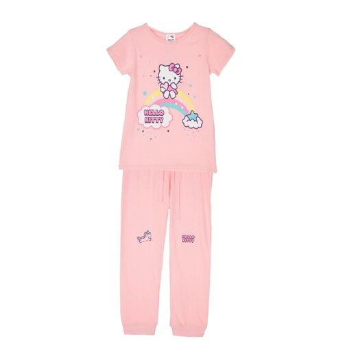 Купить Пижама playToday размер 122, розовый, Домашняя одежда